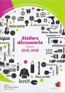Le flyer de la session 2015 2016